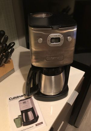 cuisinart automatic grind and brew 10-cup coffee maker for Sale in Portland, OR