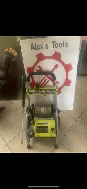 Ryobi 2000 psi pressure washer for Sale in Riverside, CA