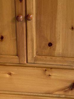 Solid Pine Armoire Dresser for Sale in Edmonds,  WA