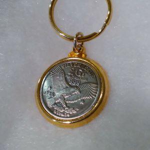 2 Gram Fine Silver Key Chain for Sale in Portland, OR