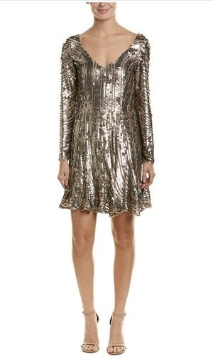 French Connection Women's Aurelie Sequin Long Sleeved Mini Dress for Sale in Portland, OR