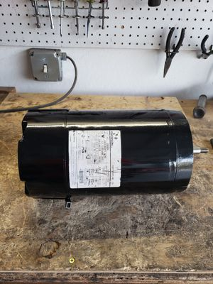 Rebuilt pool motor 1.0hp cface for Sale in Yuma, AZ