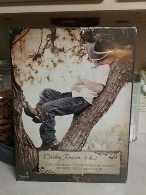 Cowboy picture for Sale in Milton, FL