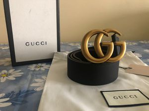 Gucci Brass GG Belt *Authentic* for Sale in Queens, NY