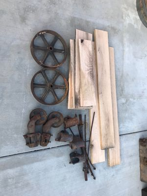 Vintage warehouse cart- complete build-it-yourself kit for Sale in Rancho Cucamonga, CA