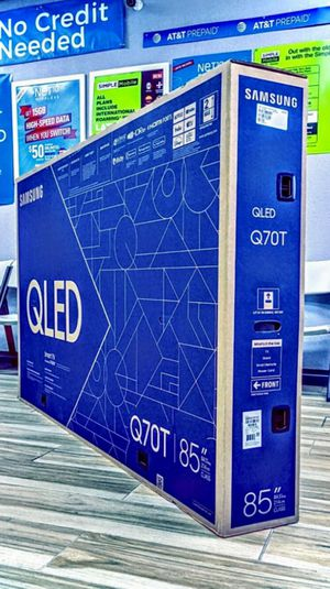 Samsung 85 inch Class - QLED Q70T Series - 4K UHD TV - Smart - LED - with HDR! Brand New in Box! One Year Warranty! for Sale in Arlington, TX