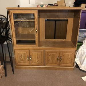 Free - Entertainment Stand Or Cabinet for Sale in Plymouth, CT