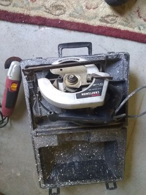 Craftsman circular saw and vibration saw for Sale in Ocala, FL