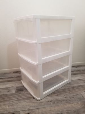 IRIS4 Compartment 4 Drawers Plastic Containers for Sale in Phoenix, AZ
