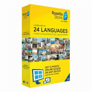 Rosetta Stone any language $50/all languages $200 for Sale in Fort Washington, MD