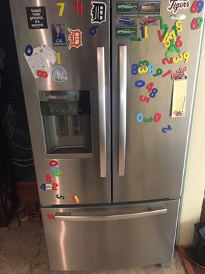 Stainless steel Whirlpool refrigerator for Sale in Austin, TX