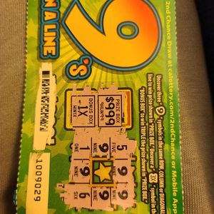 9's In A Line Ca Lottery for Sale in Jurupa Valley, CA