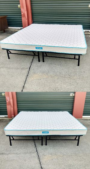 """King-Size 6"""" Linenspa Mattress for Sale in Durham, NC"""