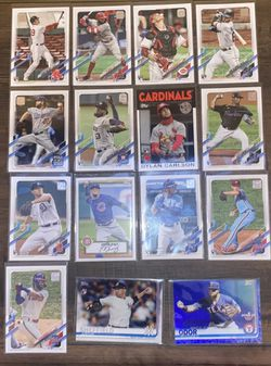 MLB Card Lot for Sale in Salinas, CA