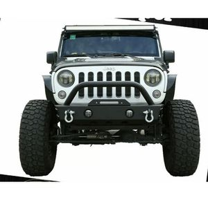 07-21 Jeep Wrangler JK JL Gladiator JT Short Stubby Front Bumper W/ Winch Plate for Sale in Los Angeles, CA