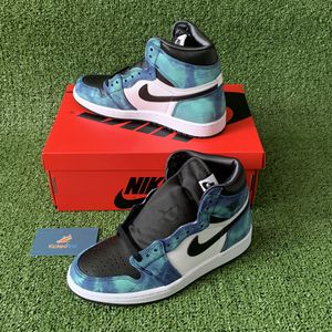 Air Jordan 1 retro high Tie Dye wmns size 7 for Sale in San Diego, CA