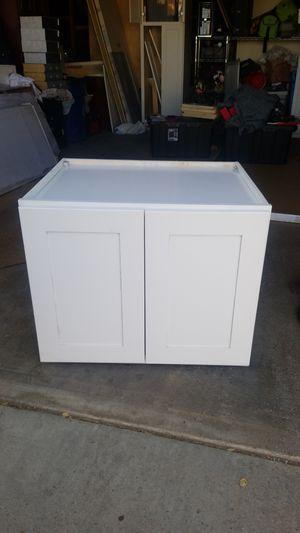 Refrigerator kitchen cabinet for Sale in Hesperia, CA