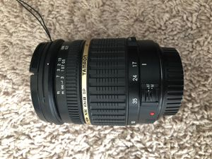 Tamron 17-50mm f/2.8 Lens for Canon DSLRs for Sale in Tampa, FL
