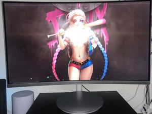 """Samsung 27"""" curved monitor for Sale in Fresno, CA"""