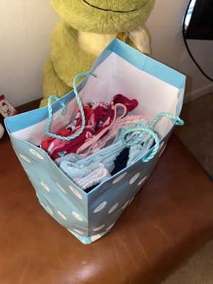 Baby Girl Newborn Cloths Gift Bag for Sale in Tampa, FL