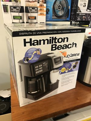 NEW Hamilton Beach Flex Brew Coffee Maker for Keurig or full pot for Sale in Upland, CA