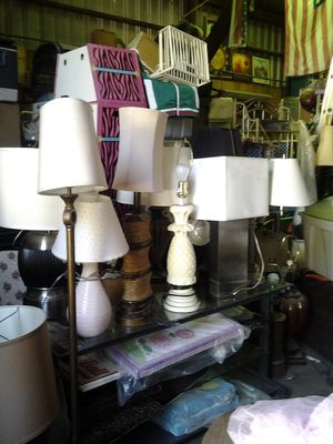 LAMPS FOR SALE for Sale in French Camp, CA