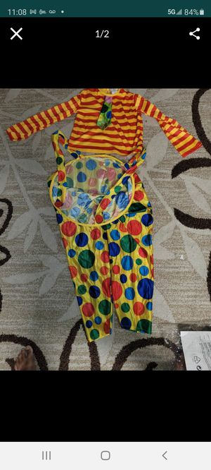Clown costume for Sale in Hawthorne, CA