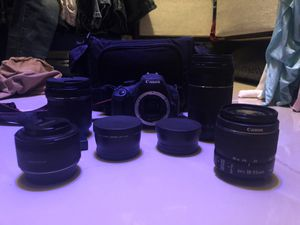 Canon T5 Rebel for Sale in Houston, TX