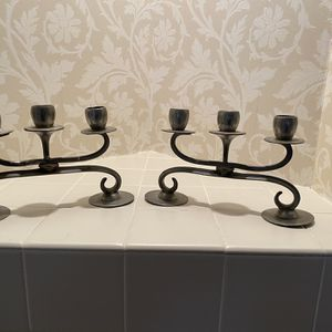 Pewter Candle Stick Holders for Sale in Lutherville-Timonium, MD
