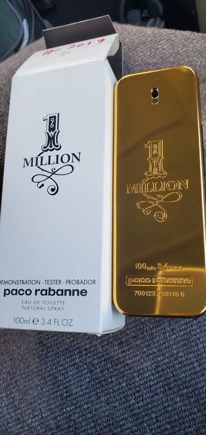 Brand New Paco Rabanne One Million 100ml cologne for Sale in Stockton, CA