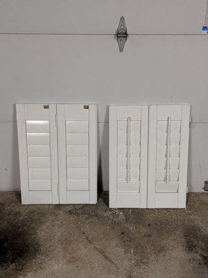 Wood Window Shutters - 6 slats for Sale in South Farmingdale, NY