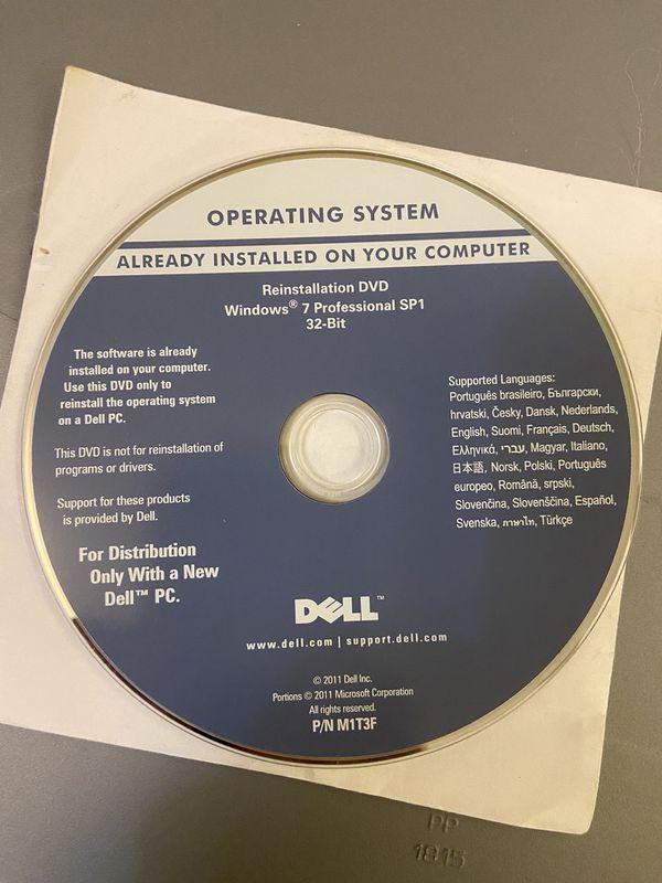 Windows 7 pro CD