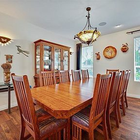 Solid Oak Dining Table and Hutch for Sale in San Diego, CA