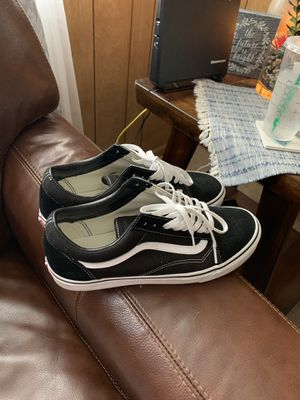 Size 11.5 Vans Shoes *almost brand new* for Sale in Morehead City, NC