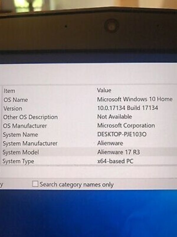 Alienware 17 R3 Gaming Laptop