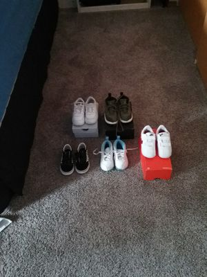 8C Jordan's, Air forcez, Vans & Cortez for Sale in Tacoma, WA