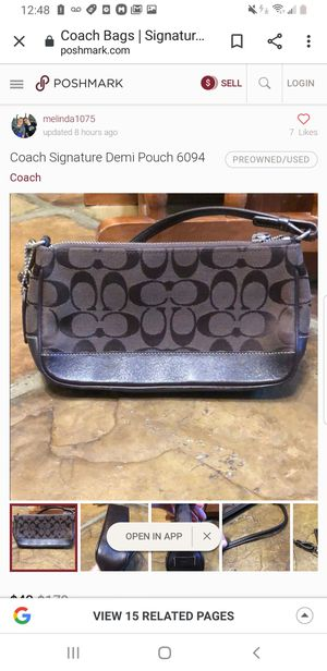 COACH BAG AUTHENTIC GREAT SHAPE for Sale in Rancho Cucamonga, CA