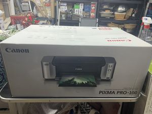 Cannon Pixma Pro-100 large format printer for Sale in Pottstown, PA