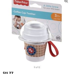 Fisher Price Baby's First Coffee Rattle And Teether for Sale in Virginia Beach, VA