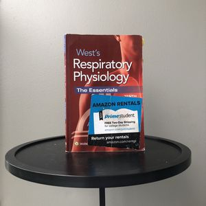 West's Respiratory Physiology Tenth Edition for Sale in San Diego, CA