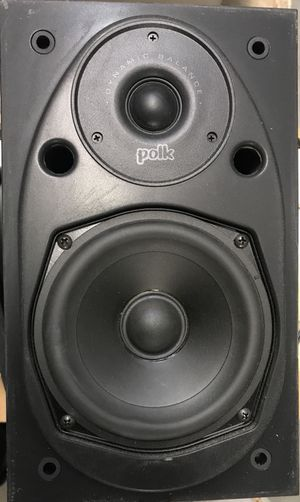 Single Polk Audio Dynamic Balance Book Shelf Speakers With Power Port for Sale in Hyattsville, MD