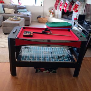 4in1 Table (Pool, Hockey, Football, Table Tennis) for Sale in San Clemente, CA
