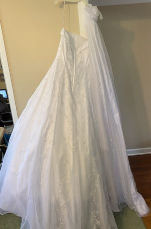 Wedding dress and flower girl dress for Sale in Wayne, MI