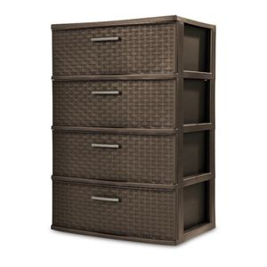 4 plastic drawers for Sale in Raleigh, NC