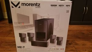 Morantz Audio M-7 Series Platinum Home Theatre System for Sale in West Los Angeles, CA