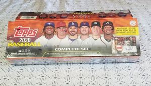 2020 Factory Sealed Topps baseball complete set Orange for Sale in Corona, CA