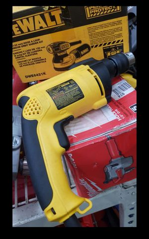 DEWALT CORDED HAMMERDRILL LIKE NEW for Sale in Colton, CA