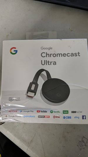 Google Chromecast Ultra for Sale in Miami, FL