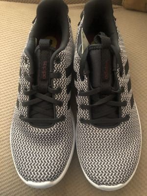 adidas Women's Cf Racer tr Running Shoe, Black/Black/Grey, Size 8.0 for Sale in Hayward, CA