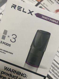Relx Pods/Tangy Purple for Sale in Brooklyn,  NY